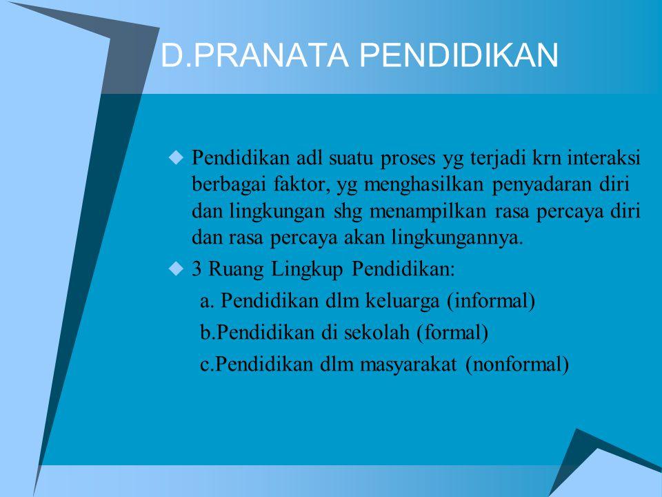D.PRANATA PENDIDIKAN