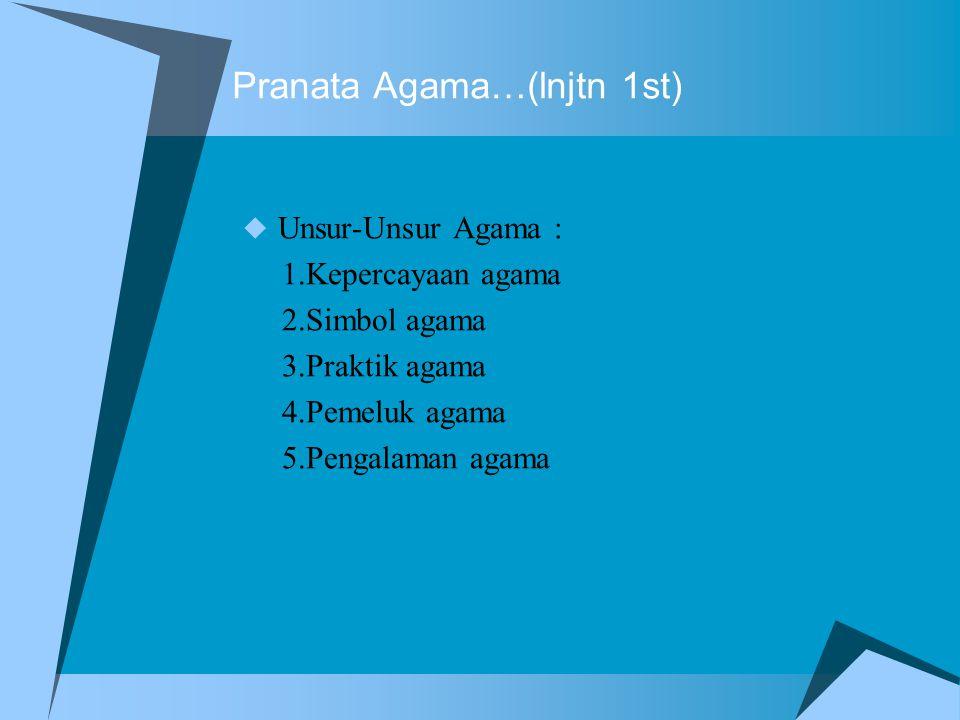 Pranata Agama…(lnjtn 1st)