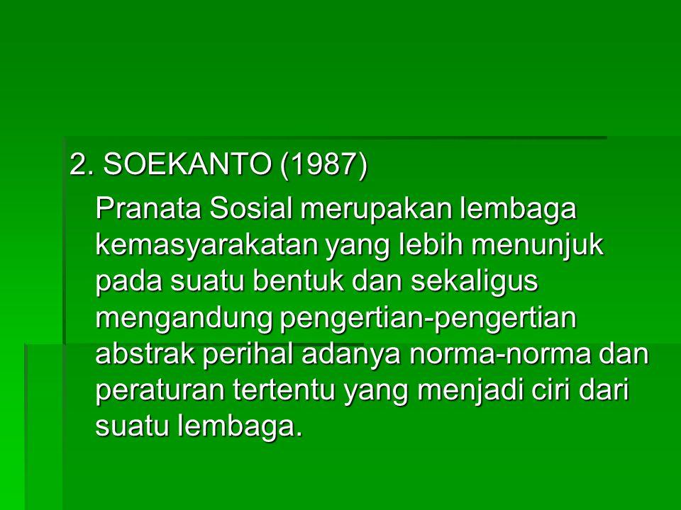 2. SOEKANTO (1987)