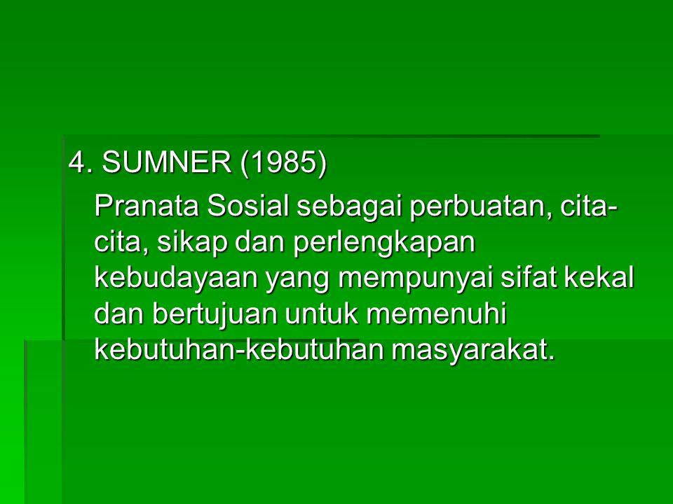 4. SUMNER (1985)
