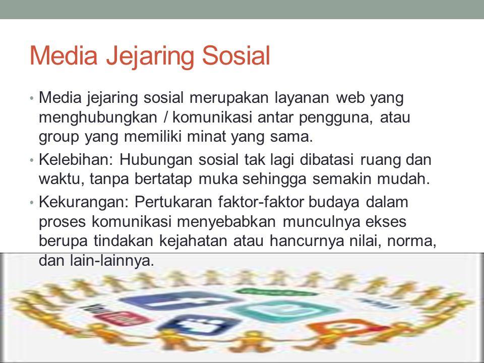 Media Jejaring Sosial
