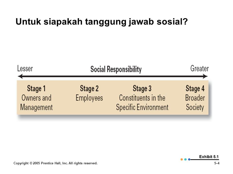 Untuk siapakah tanggung jawab sosial