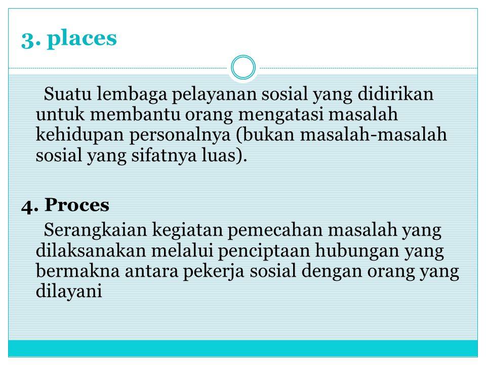 3. places