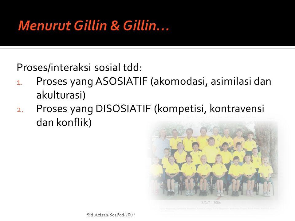 Menurut Gillin & Gillin…