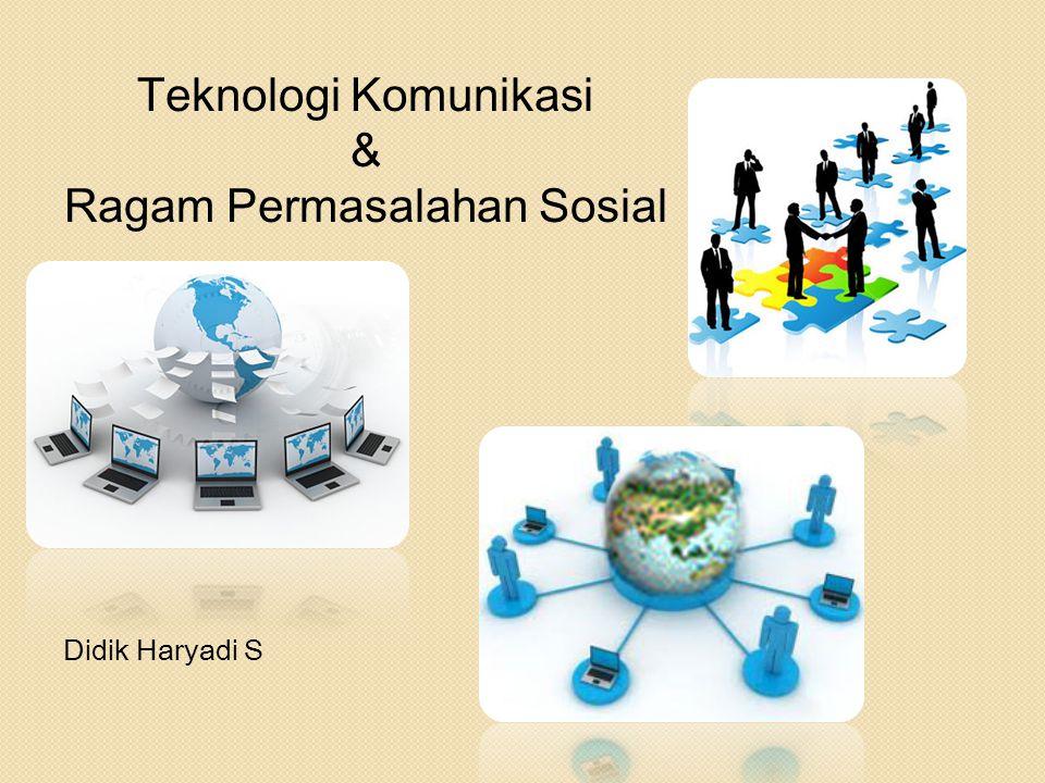 Ragam Permasalahan Sosial