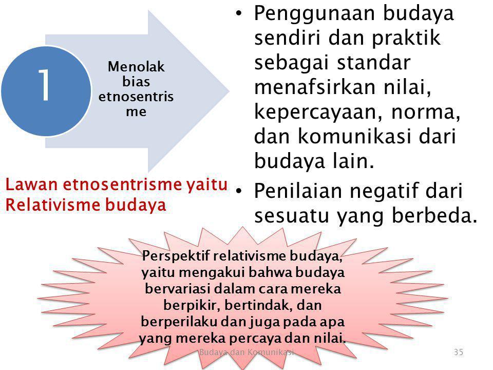 Menolak bias etnosentrisme
