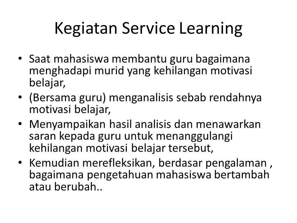 Kegiatan Service Learning