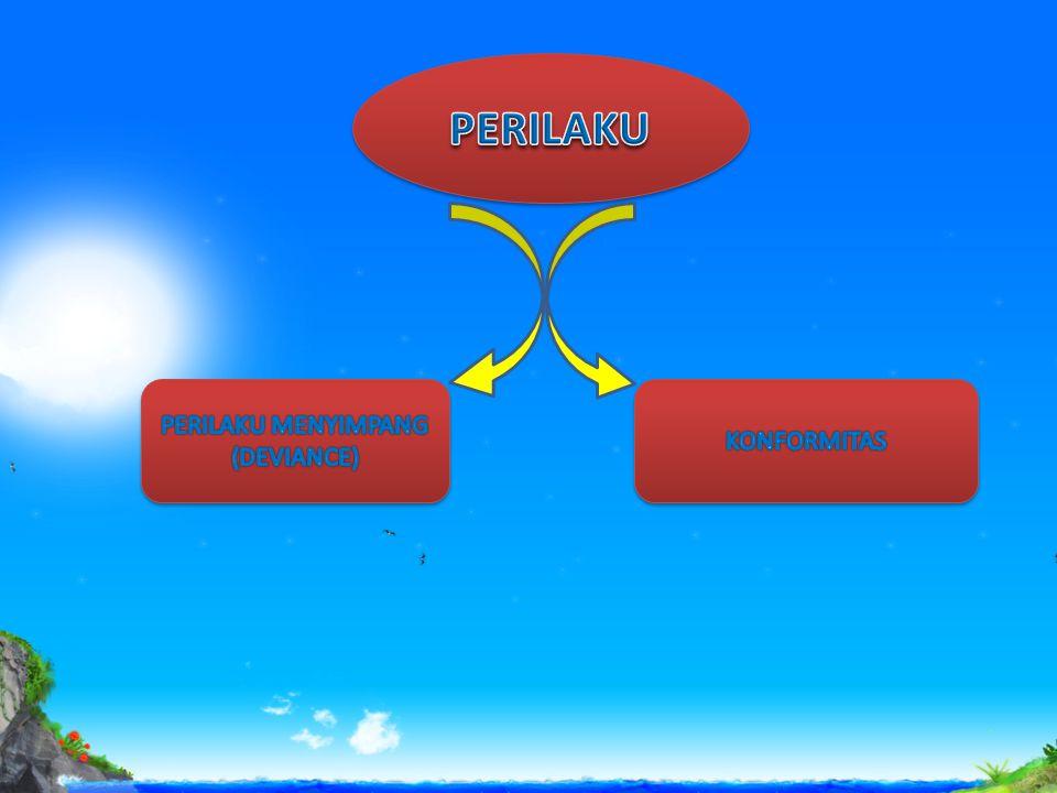 PERILAKU MENYIMPANG (DEVIANCE)