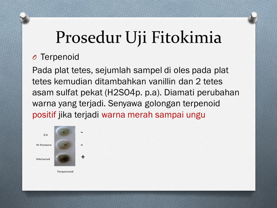Prosedur Uji Fitokimia