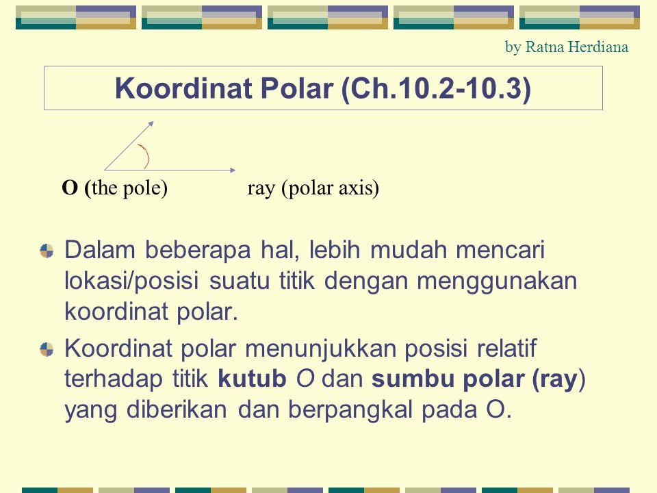 by Ratna Herdiana Koordinat Polar (Ch.10.2-10.3)