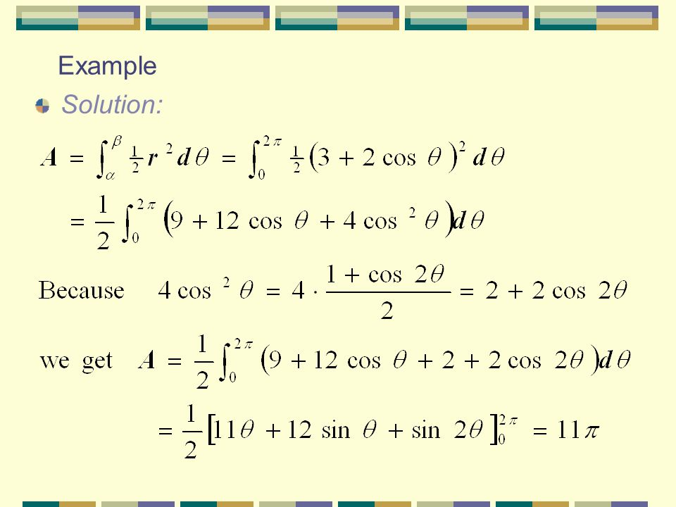 Example Solution: