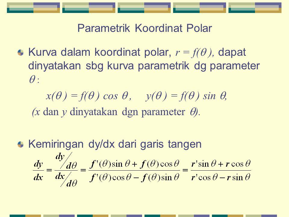 Parametrik Koordinat Polar