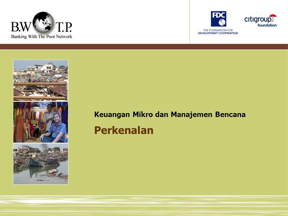 Keuangan Mikro dan Manajemen Bencana