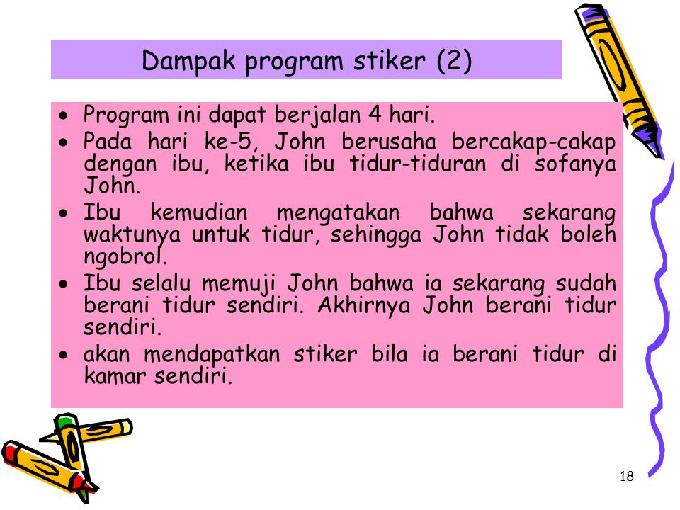 Dampak program stiker (2)