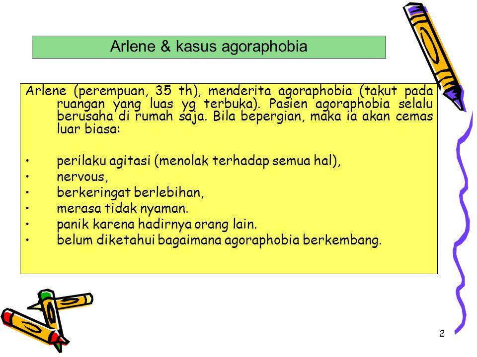 Arlene & kasus agoraphobia