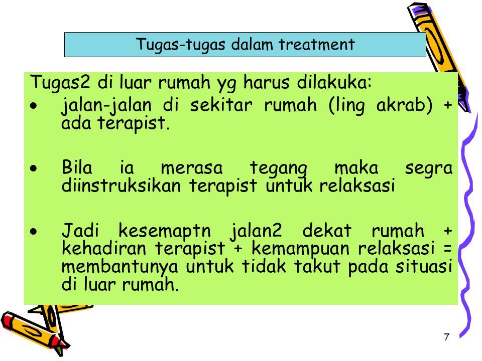 Tugas-tugas dalam treatment