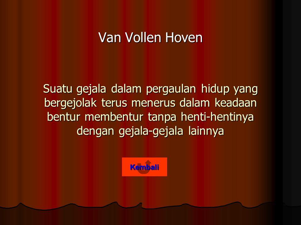 Van Vollen Hoven