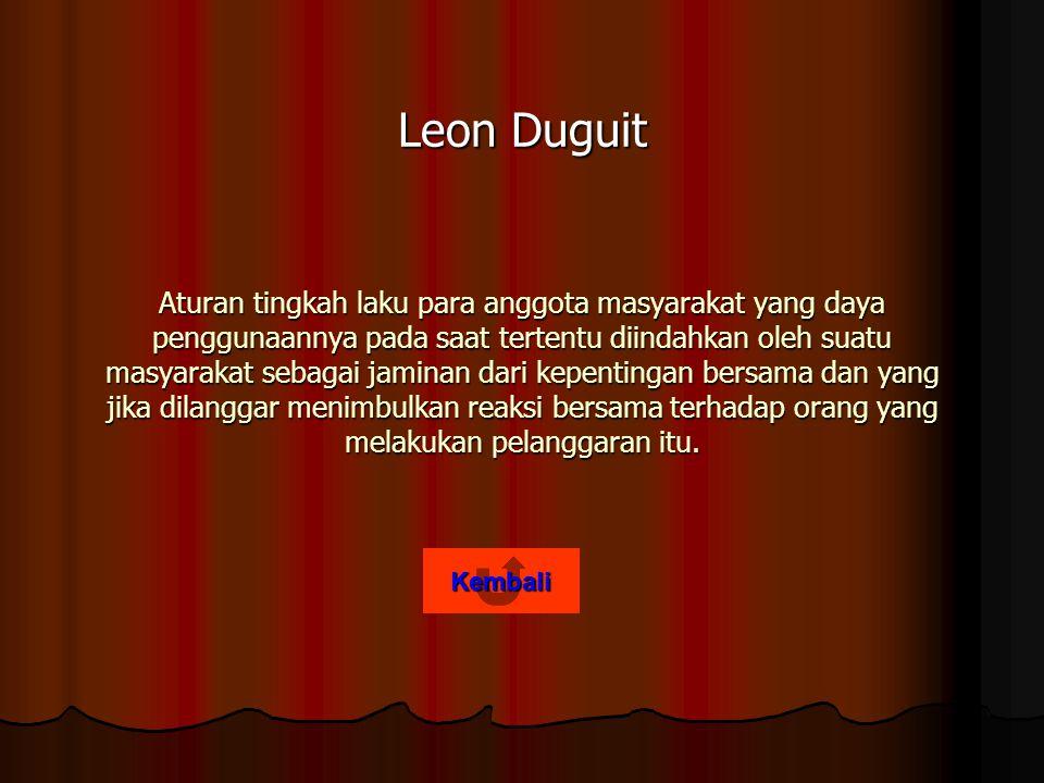 Leon Duguit