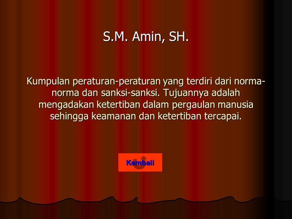 S.M. Amin, SH.
