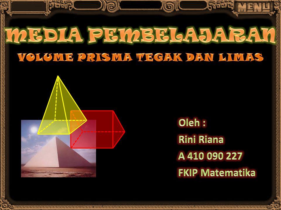 VOLUME PRISMA TEGAK DAN LIMAS
