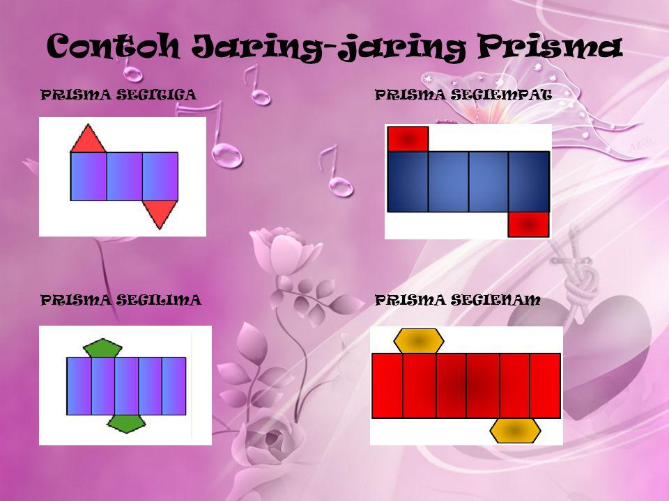 Contoh Jaring-jaring Prisma