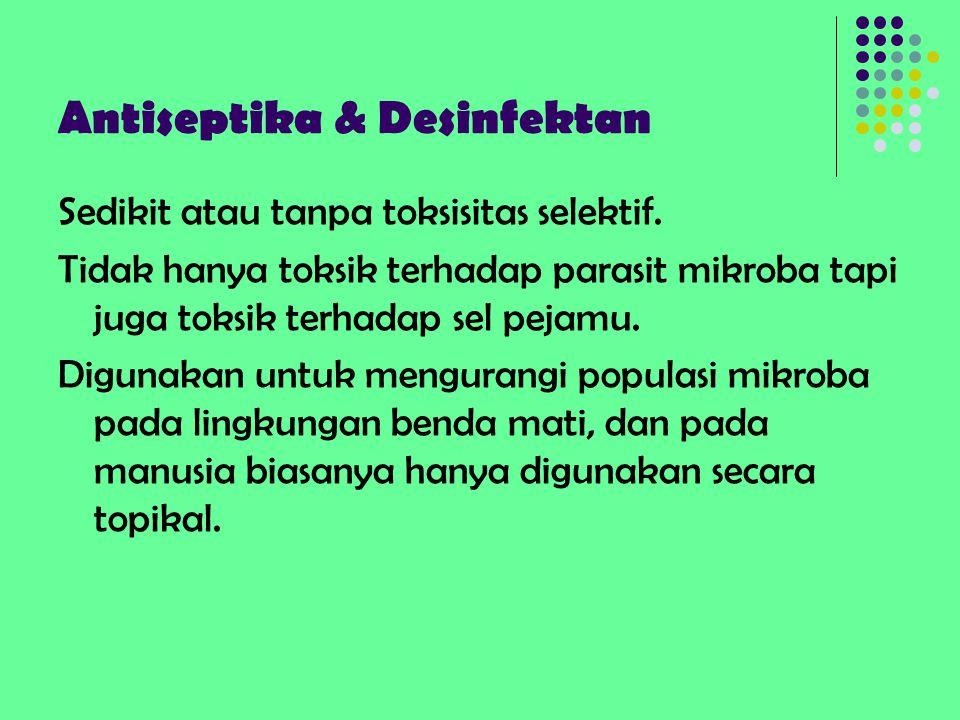 Antiseptika & Desinfektan