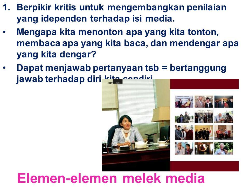 Elemen-elemen melek media