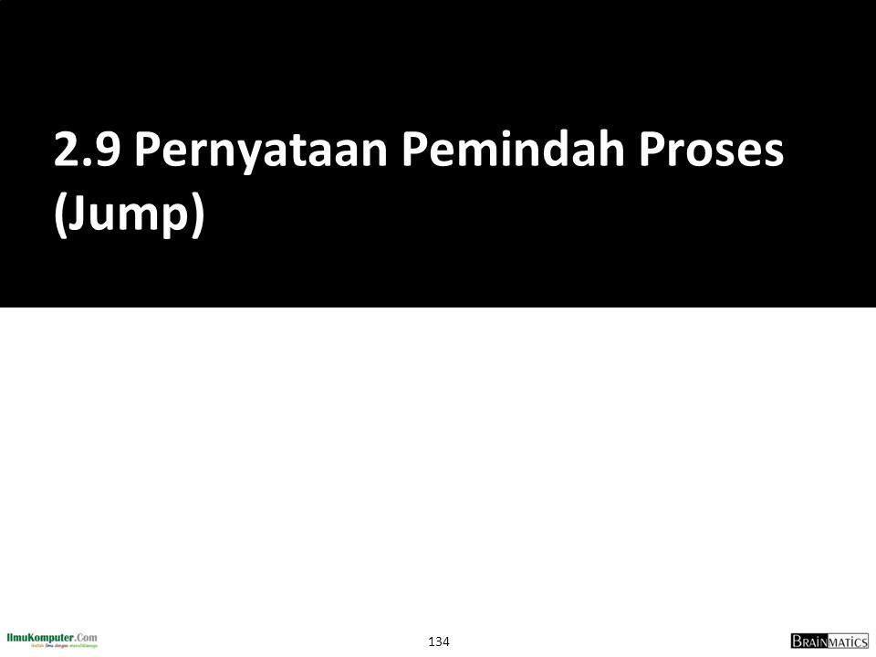 2.9 Pernyataan Pemindah Proses (Jump)