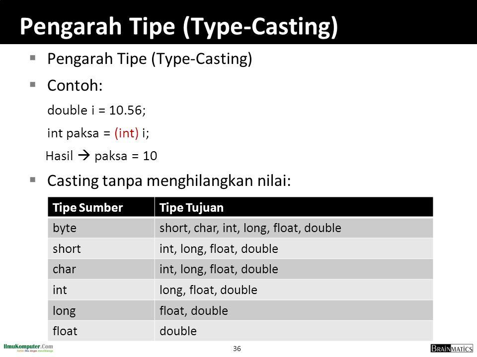 Pengarah Tipe (Type-Casting)
