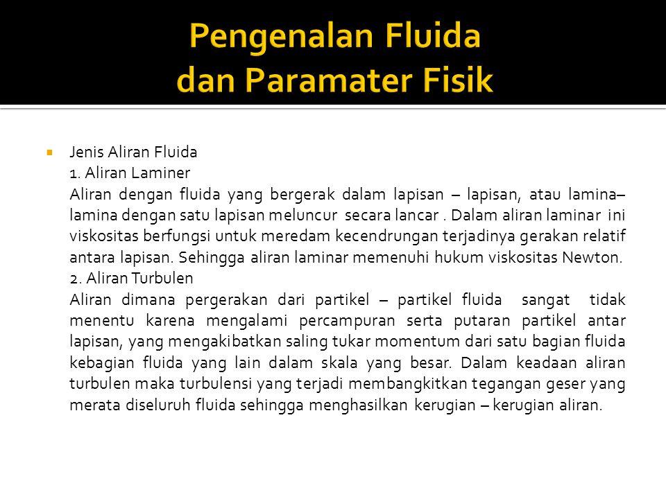 Pengenalan Fluida dan Paramater Fisik