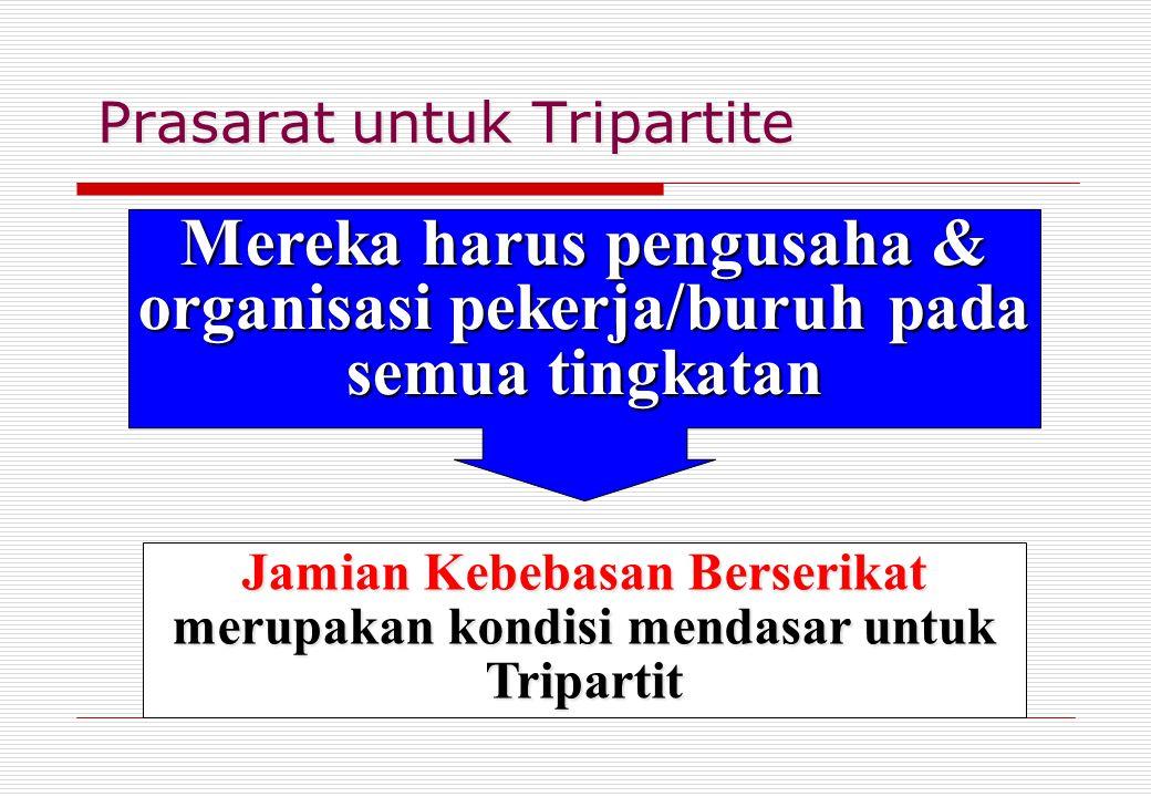 Prasarat untuk Tripartite