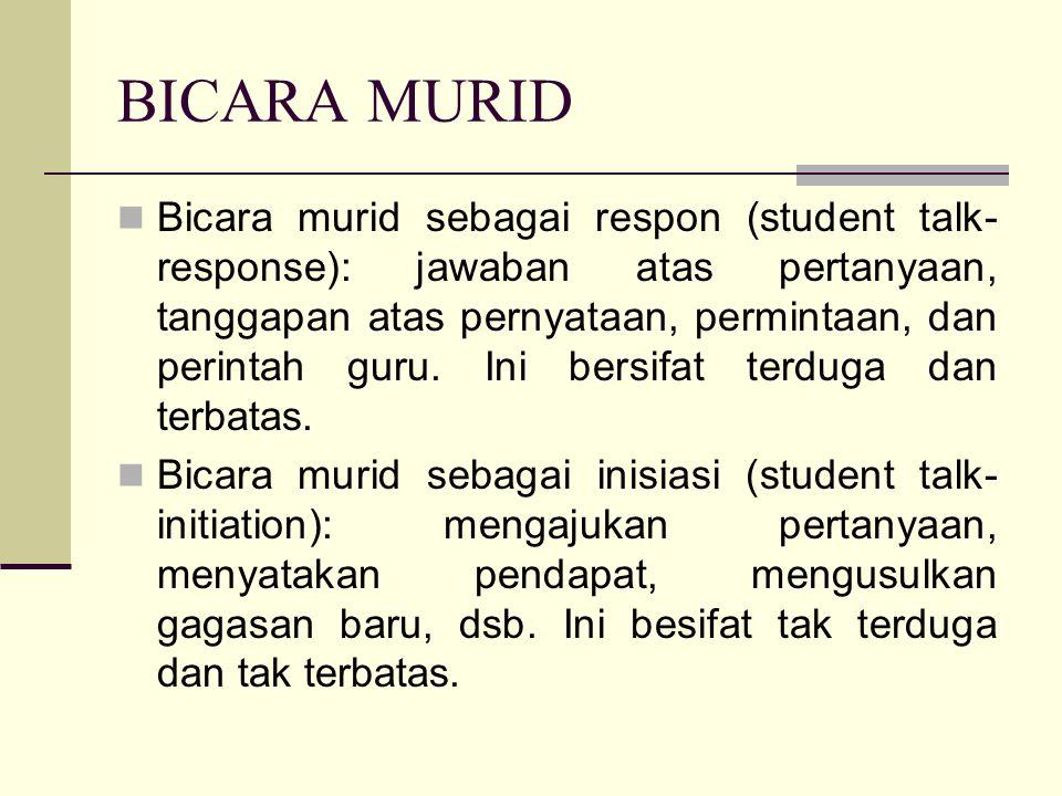 BICARA MURID