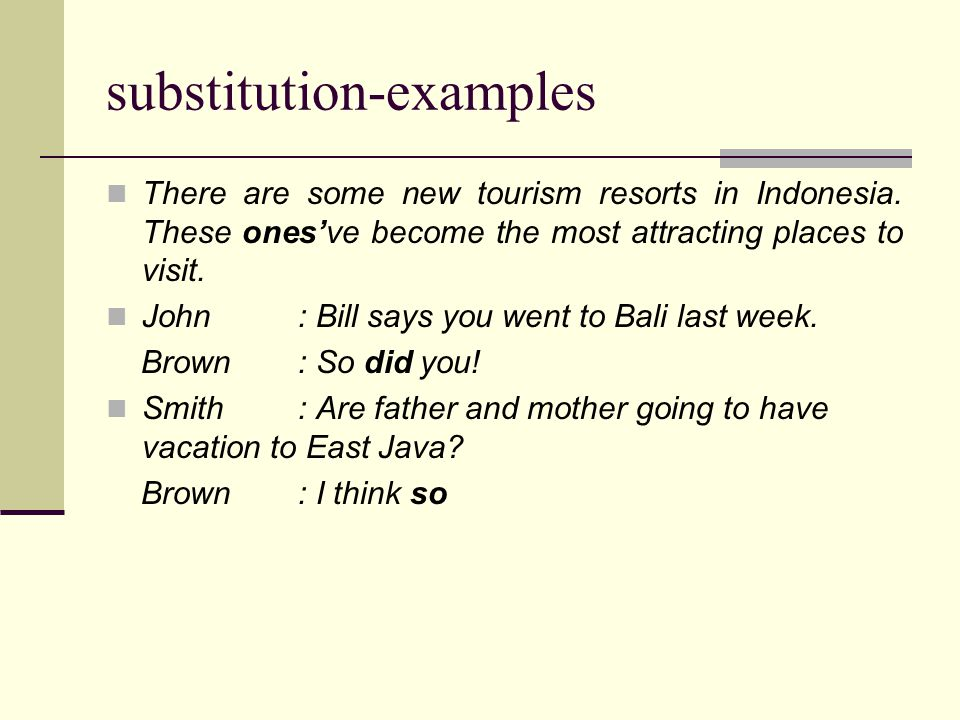 substitution-examples