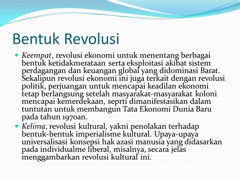 Bentuk Revolusi