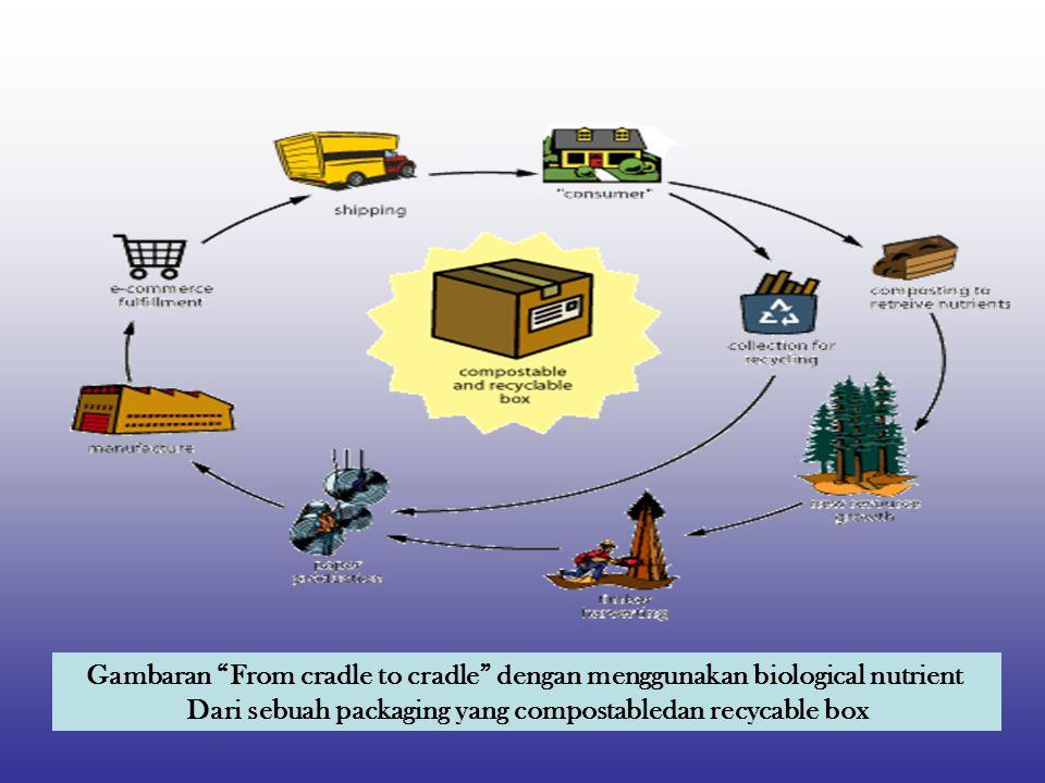 Dari sebuah packaging yang compostabledan recycable box
