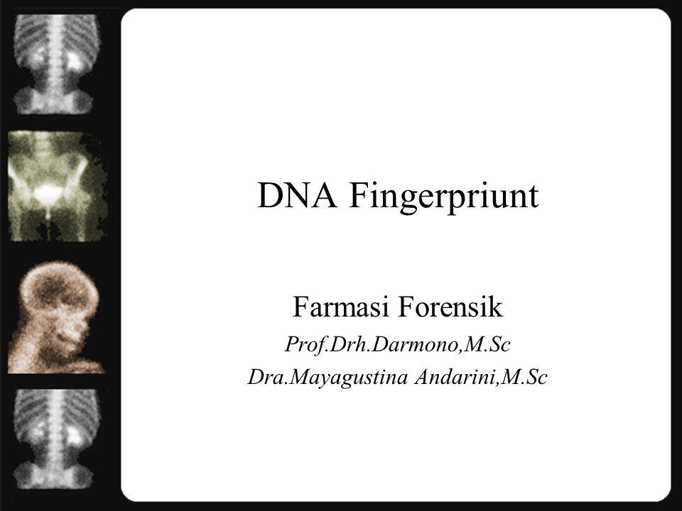 Farmasi Forensik Prof.Drh.Darmono,M.Sc Dra.Mayagustina Andarini,M.Sc