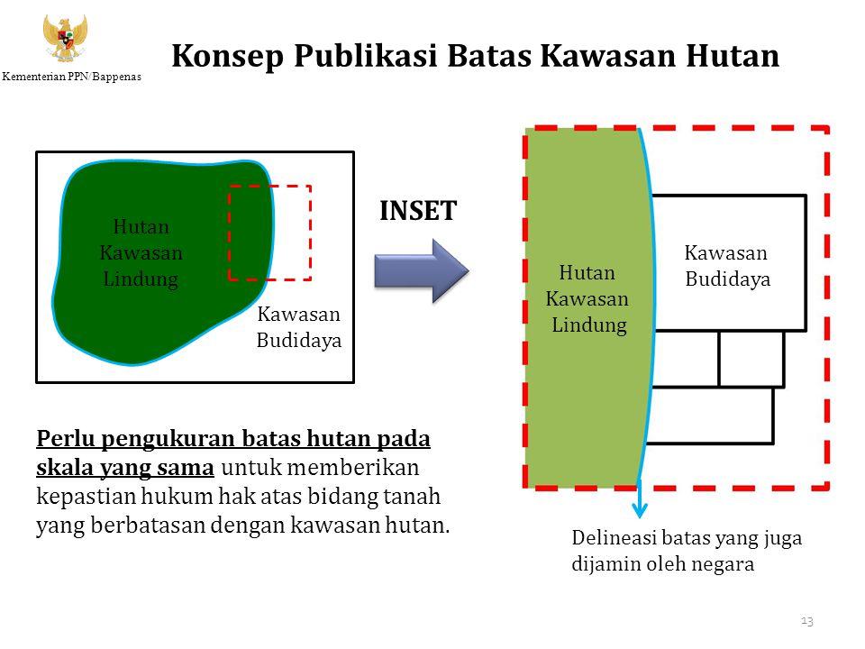 Konsep Publikasi Batas Kawasan Hutan
