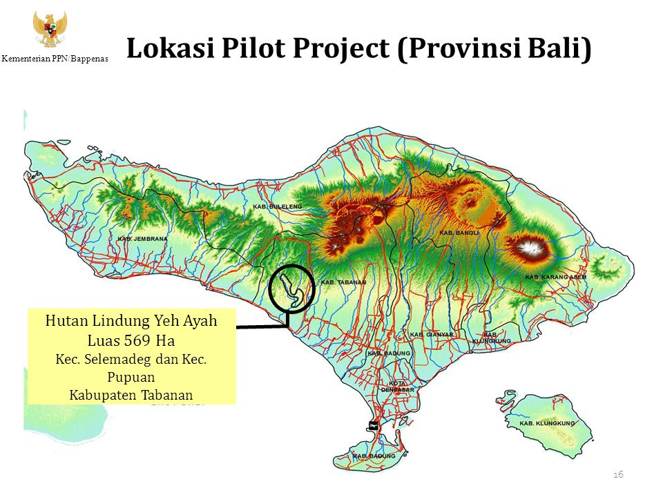 Lokasi Pilot Project (Provinsi Bali)