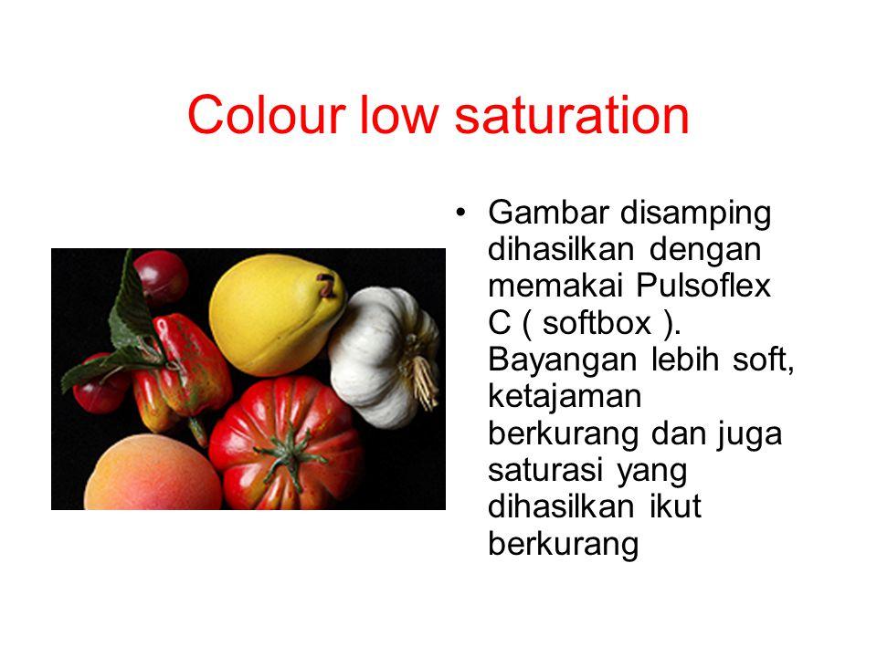 Colour low saturation