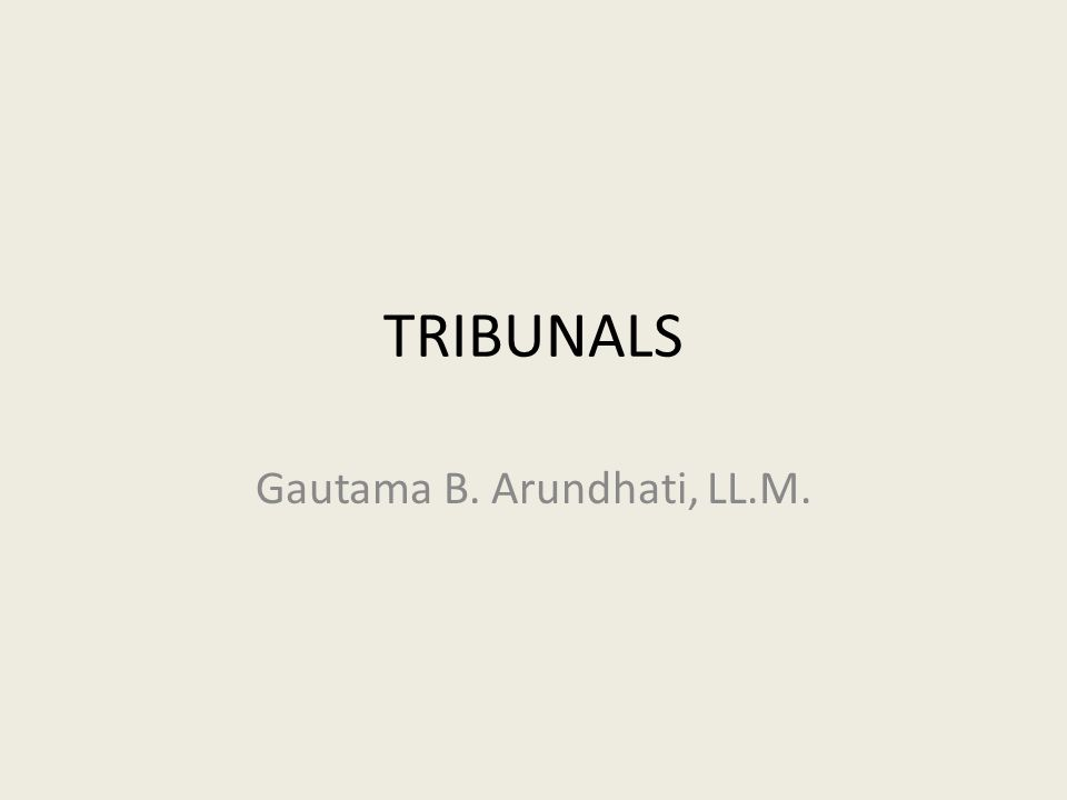 Gautama B. Arundhati, LL.M.