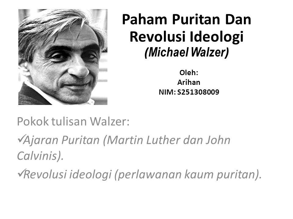 Paham Puritan Dan Revolusi Ideologi