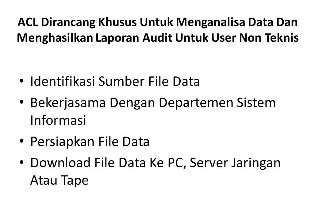 Identifikasi Sumber File Data