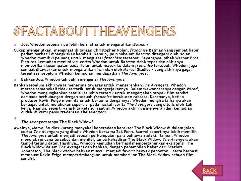 #Factabouttheavengers