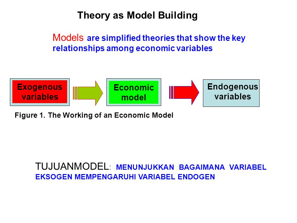 economic theory and models