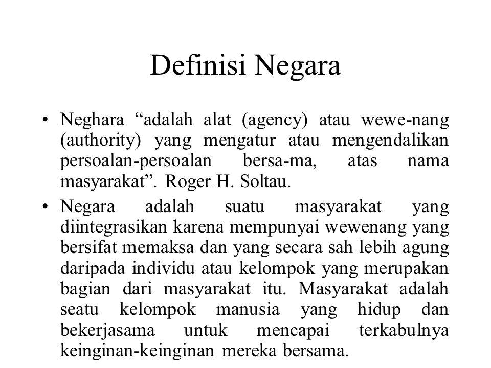 Definisi Negara