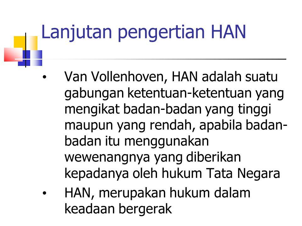 Lanjutan pengertian HAN