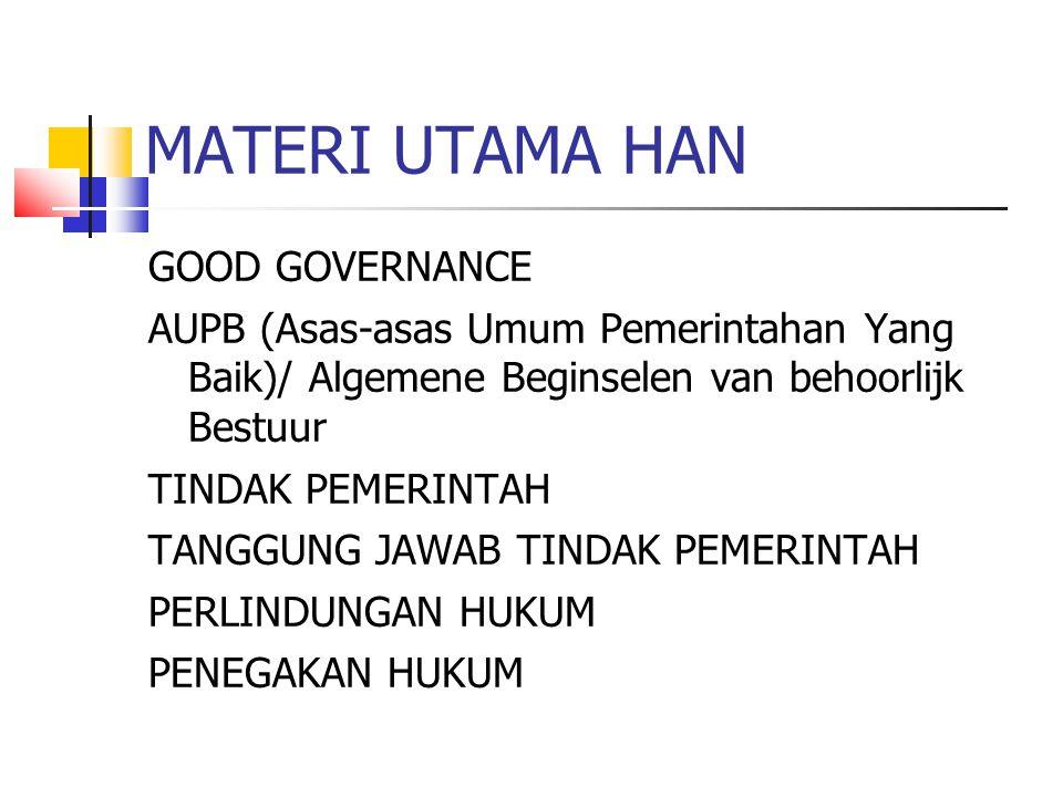 MATERI UTAMA HAN
