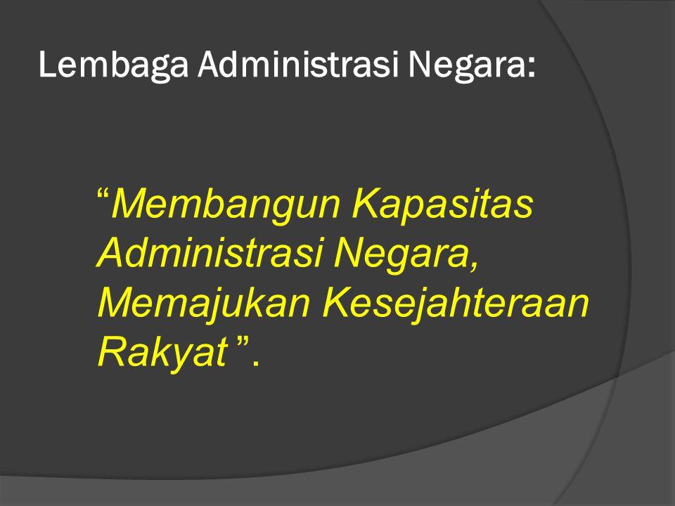 Lembaga Administrasi Negara: