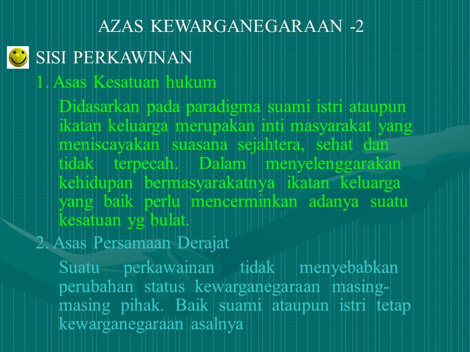 AZAS KEWARGANEGARAAN -2