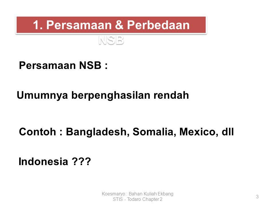 1. Persamaan & Perbedaan NSB